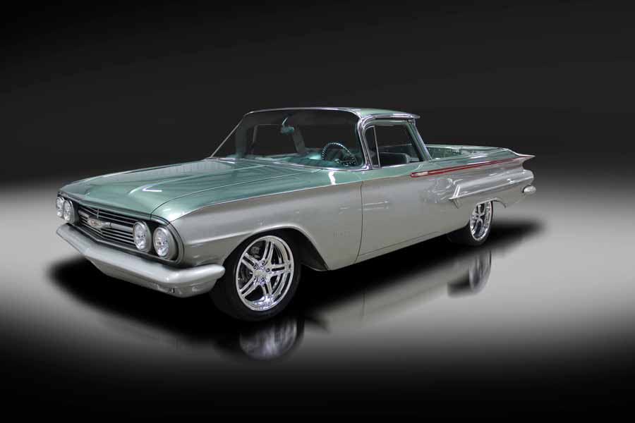 7. 1960 Chevrolet El Camino Custom Pickup, vendida por US $ 126.500 em 2017