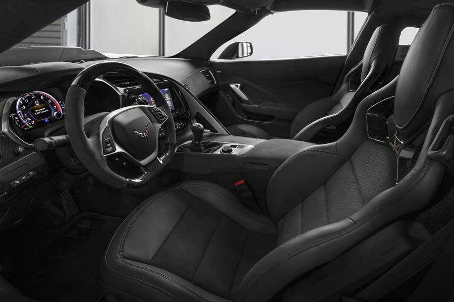 Interior do - CHEVROLET CORVETTE ZR1 2019
