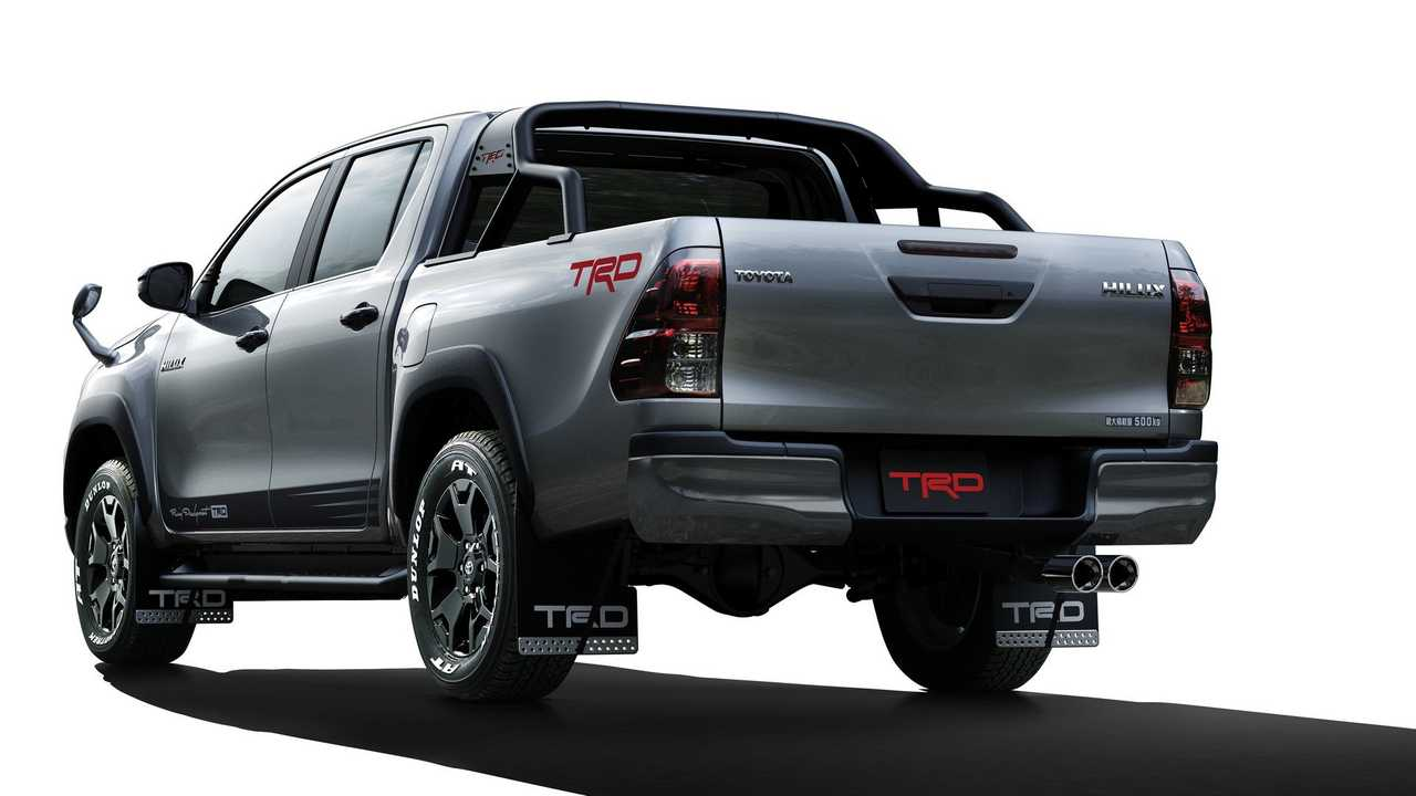 Toyota Hilux Black Rally