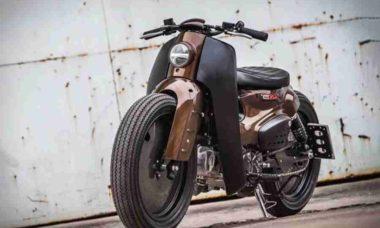 Você acredita que essa moto é uma Uma Honda Super Cub?