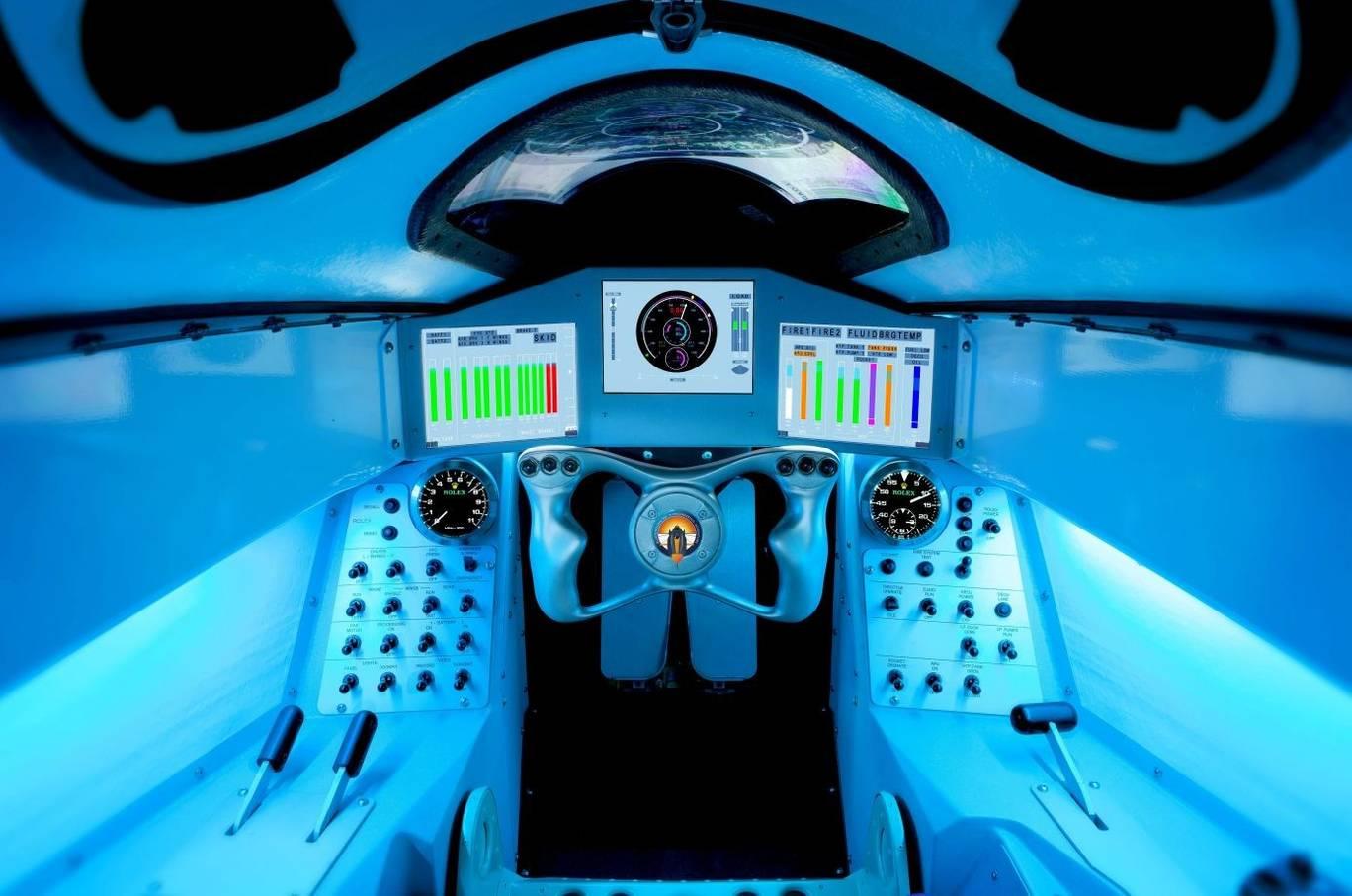 No cockpit estará Andy Green, um piloto de caça da Força Aérea Real