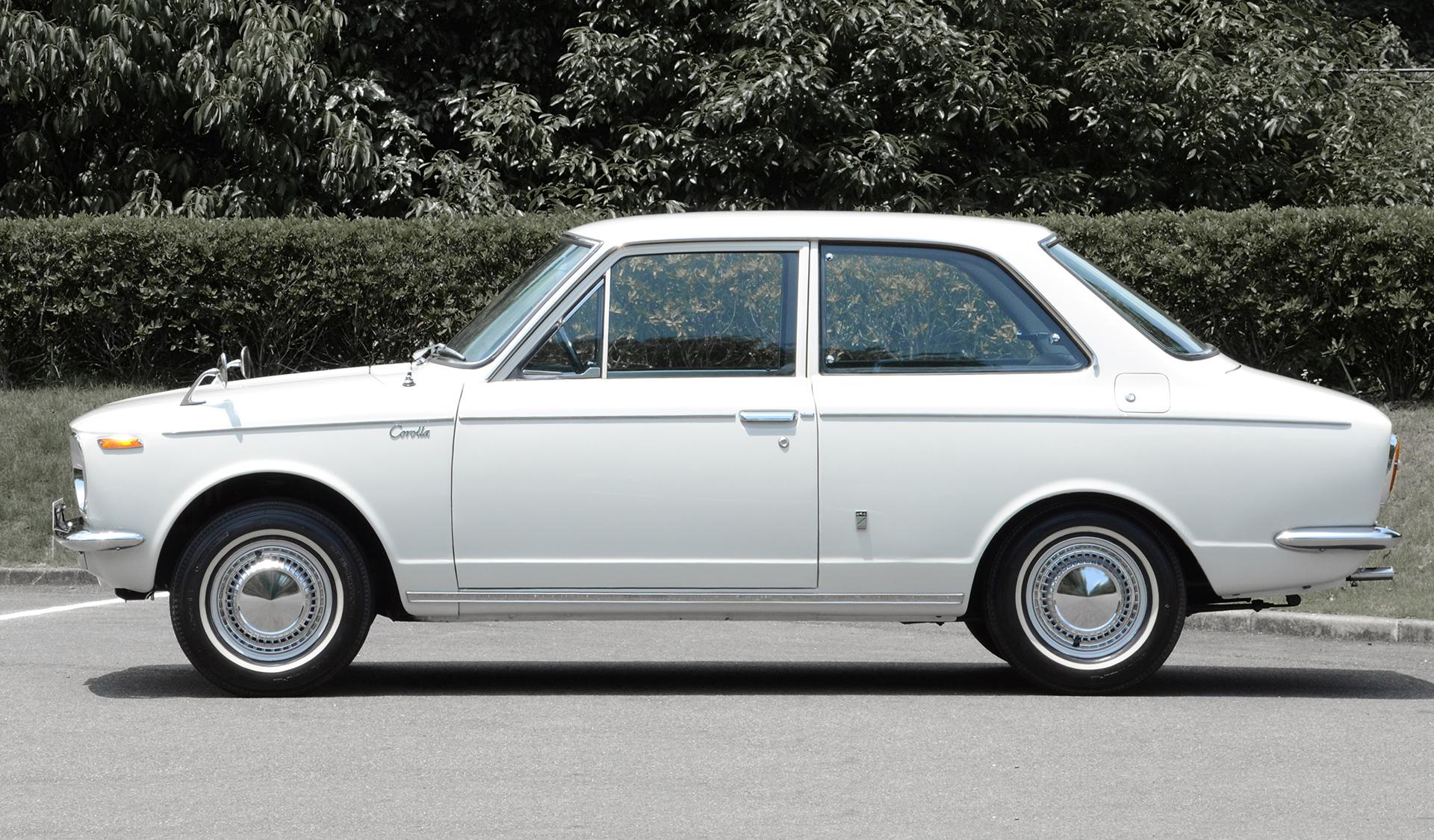 Primeira geração do Corolla - 1966