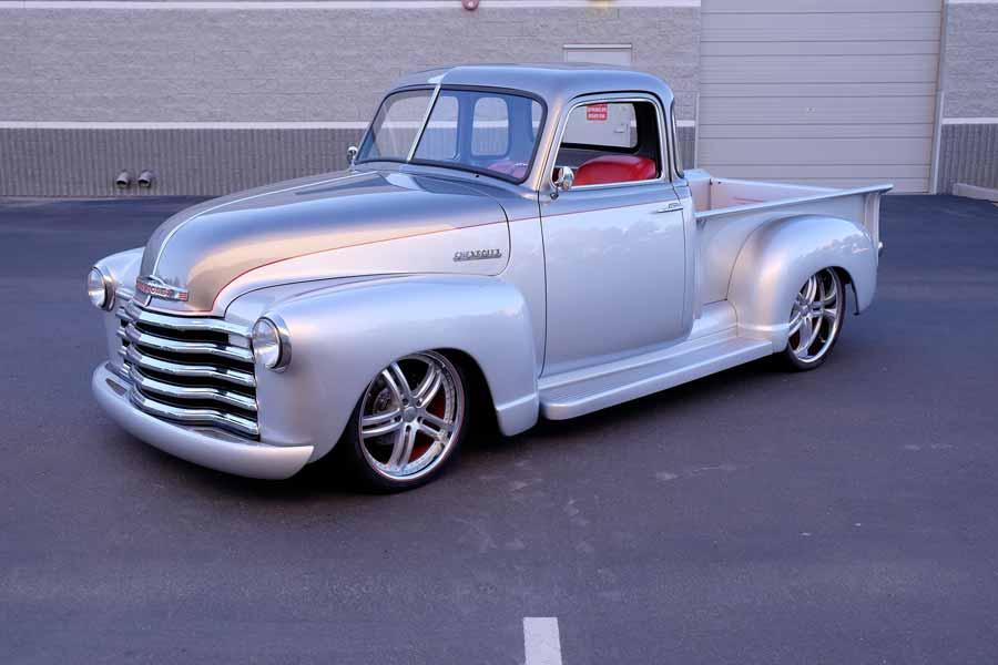 2. 1950 Chevrolet 3100 Custom Pickup, vendido por US $ 205.700 em 2017