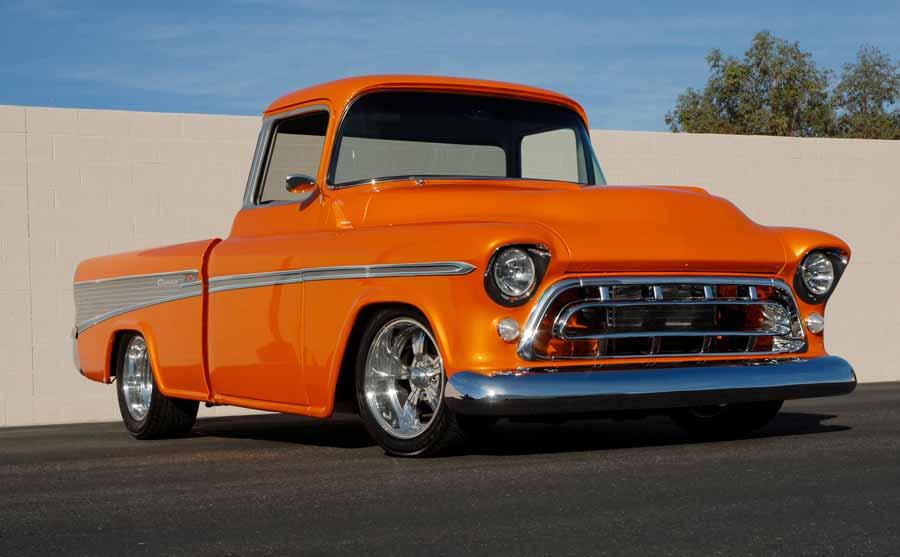 3. 1957 Chevrolet Cameo Pickup, vendido por US $ 159.500 em 2007