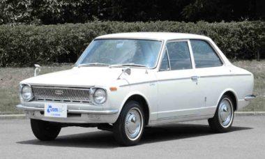 A primeira geração dos Toyotas. Foto: Divulgação