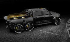 Exy Monster X Concept. Um Monstro de 6 rodas da Mercedes