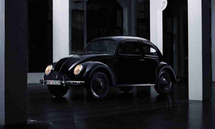 Este Fusca na verdade é um Porsche