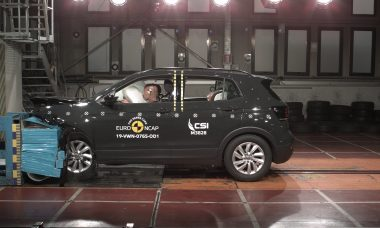 VW T-Cross leva nota máxima em crash test na Europa