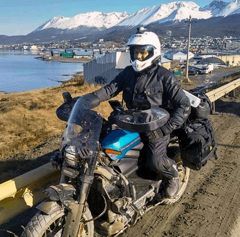 Primeiras fotos emergem da Long Way Up Harley-Davidson LiveWire Adventure.