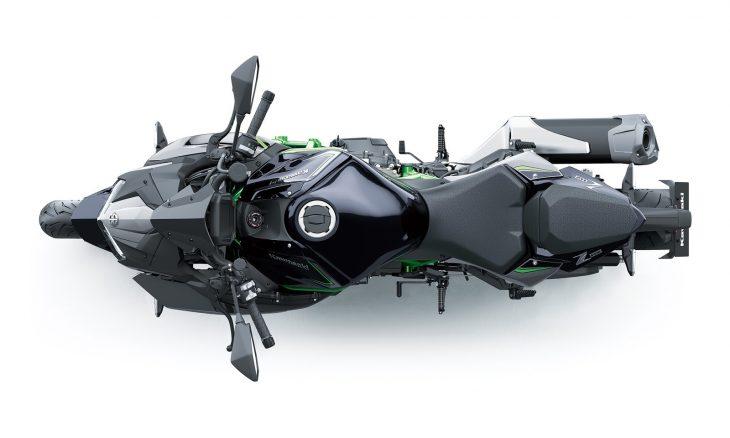 Kawasaki apresenta a nova Z H2 Supercharger a supernaked de 200cv