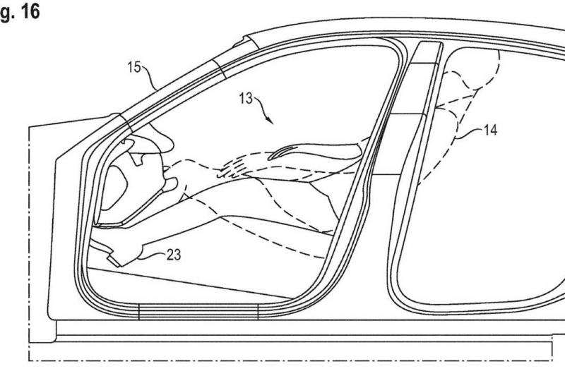 configuração que a Porsche descreve como 'relaxante'.