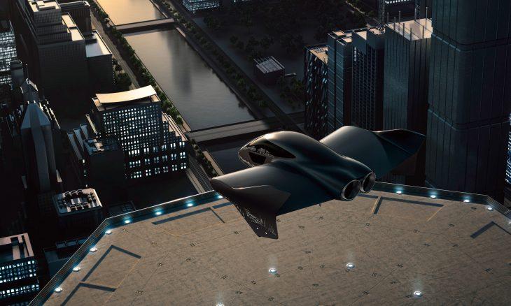 carro voador porsche