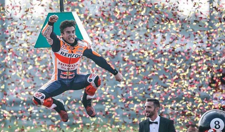 MotoGP: Marc Márquez campeão do mundo com quatro etapas de antecedência