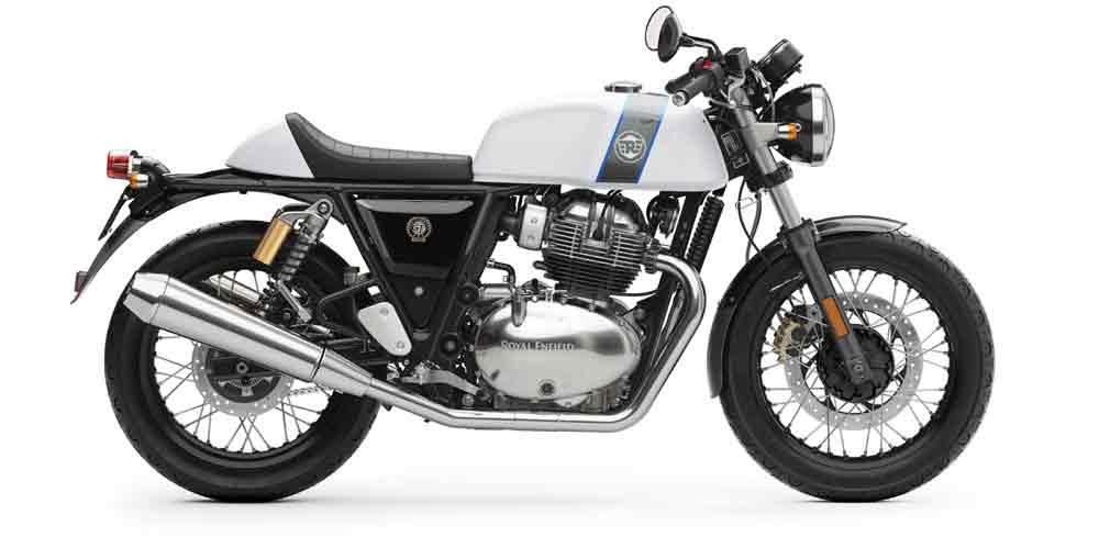 Continental 650cc tem um apelo mais esportivo