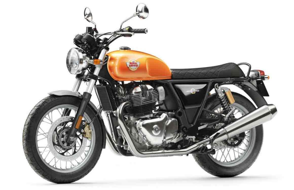 Interceptor 650cc uma elegante Roadster