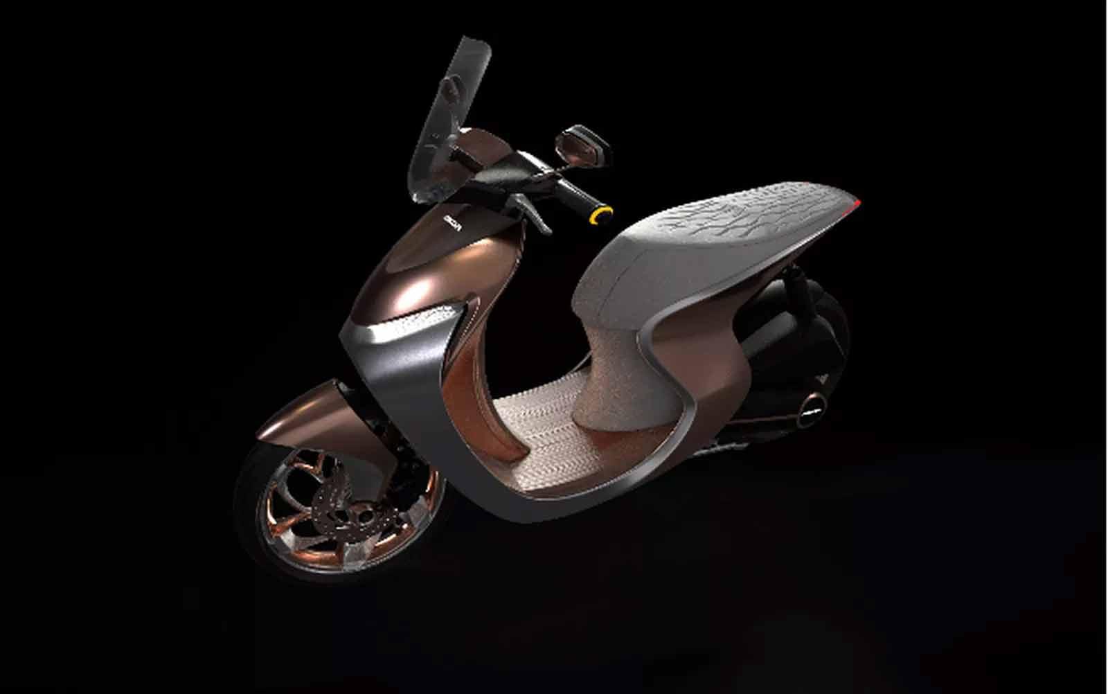 Honda revelou um conceito de scooter que estará, de maneira virtual, no Salão Duas Rodas 2019.