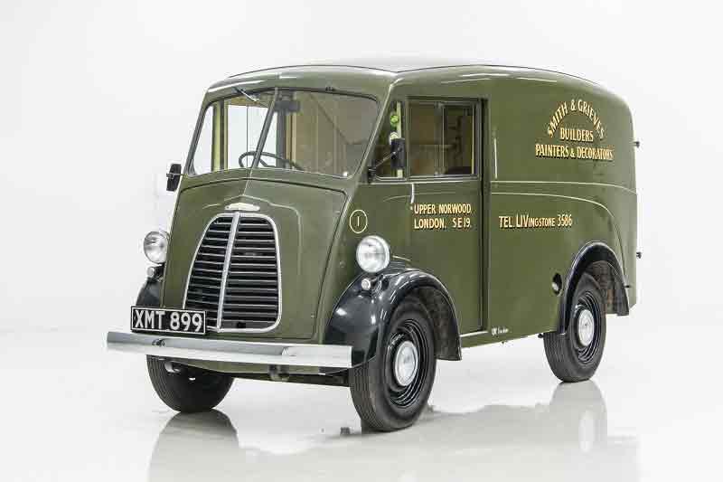 Morris J-Type da década de 40