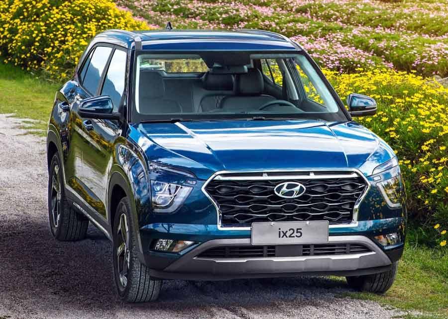 Hyundai revela imagens do novo Creta 2020 (ix25)