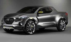 Confirmado! O Hyundai Santa Cruz chegará em 2021 como a primeira pick-up do fabricante