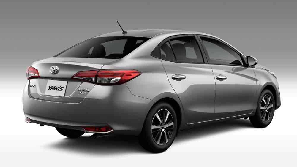 A promoção do Yaris vale para todas as versões do carro, com carroceria hatch ou sedã.