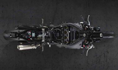 Chassi inteligente da Yamaha que deteta possíveis rachaduras