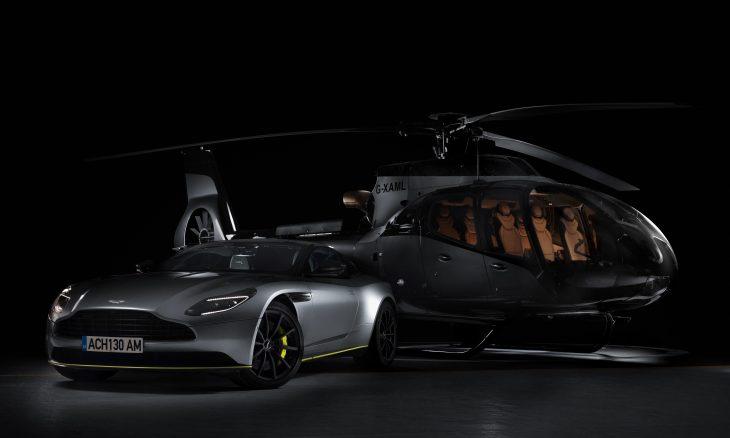 Airbus se une à Aston Martin para lançar helicóptero