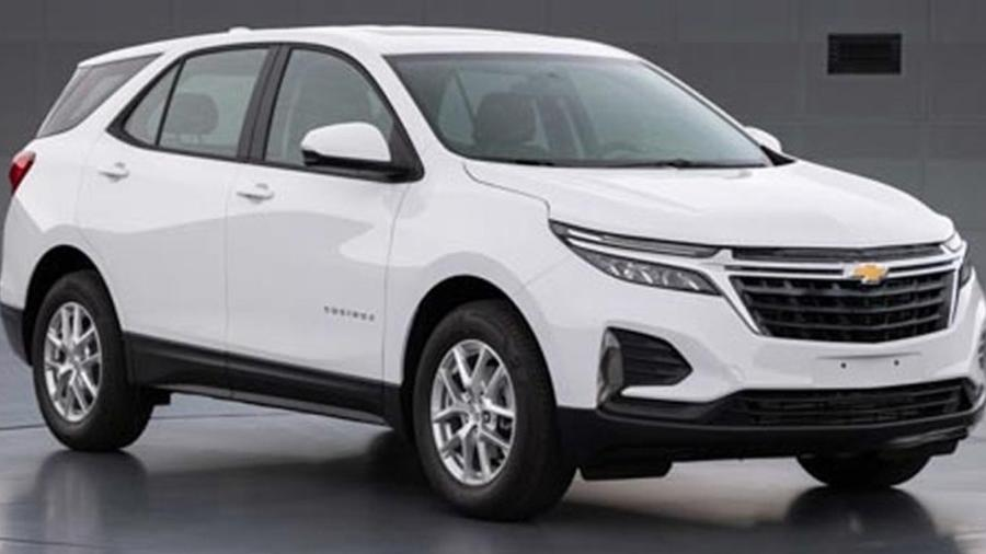 Chevrolet Equinox aparece com novo visual na China