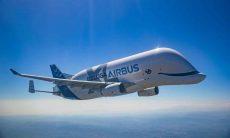 BelugaXL, avião de carga gigante da Airbus entra em operação