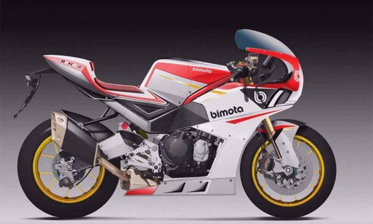 A Bimota lançará uma motocicleta estilo retrô e motor da Kawasaki Ninja 1000SX