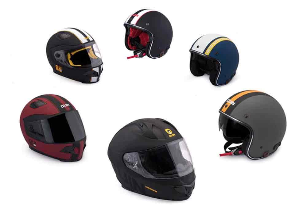 Quin Smart Helmet vai estar disponíveis em seis designs diferentes