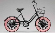 Pneus sem ar da Bridgestone chegam primeiro às bicicletas