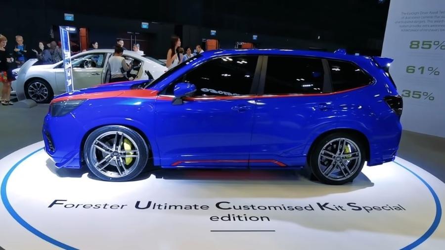 Subaru pede perdão por show car Fucks mostrado na Ásia