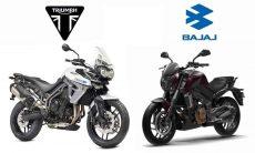 Triumph e Bajaj assinam acordo para novos produtos globais