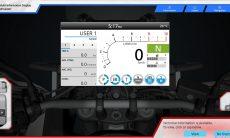 Simulador Interactivo da Electrônica das novas Honda Africa Twin 2020