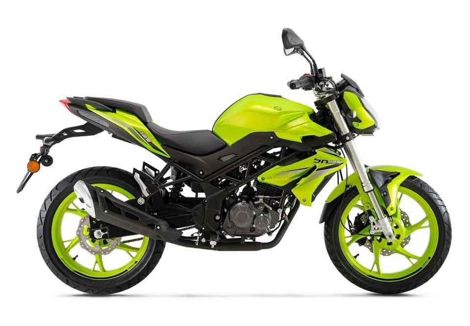 O quadro, umas das partes mais belas da moto