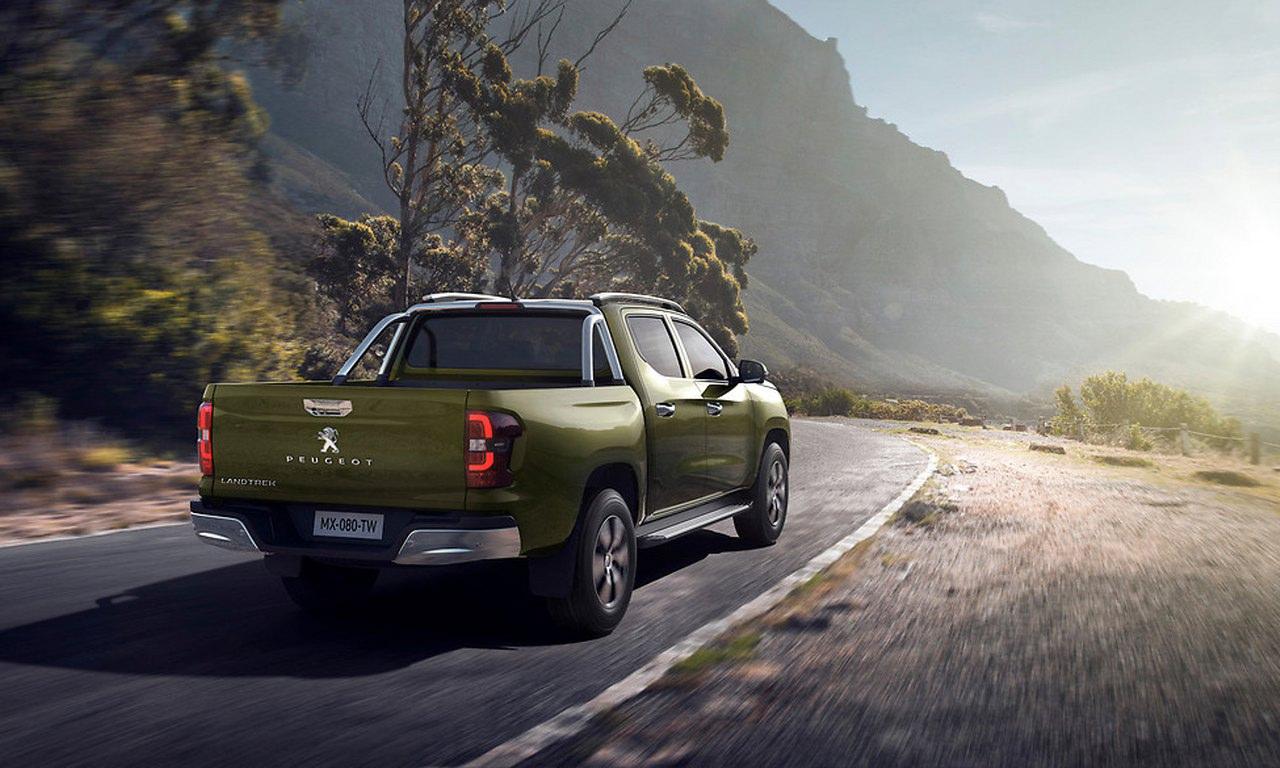 Picape média Peugeot Landtrek é revelada