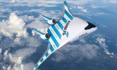 Airbus apresenta protótipo de asa voadora gigante