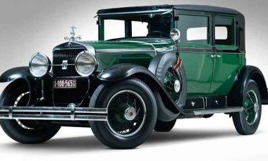 Cadillac 1928 que pertenceu a Al Capone. Foto: Divulgação