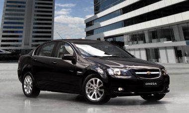 Chevrolet Omega, que era produzido na Austrália pela Holden