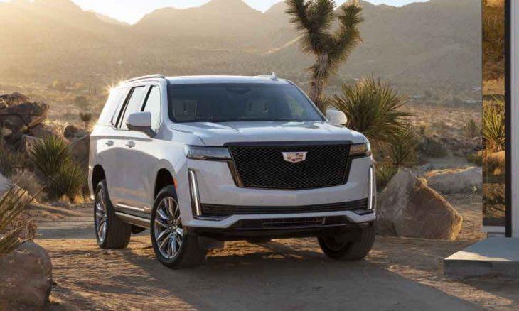 O novo Cadillac Escalade está maior do que nunca e com um painel OLED curvo de 38 polegadas