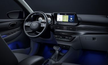 Hyundai revela interior do novo i20