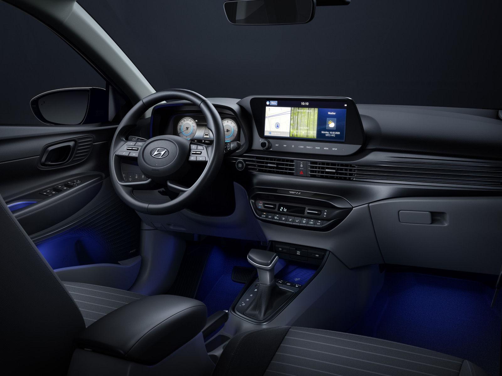 Hyundai revela interior do novo i20
