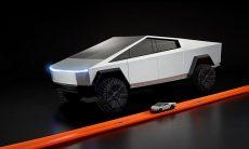Tesla Cybertruck vira Hot Wheels de controle remoto