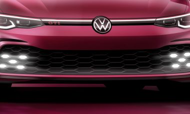 VW revela teaser do novo Golf GTI