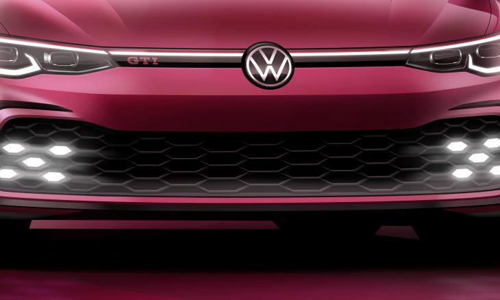 VW revela teaser do novo Golf GTI