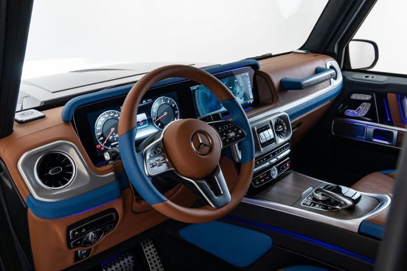 Mercedes-Benz Classe G, Invicto. Foto: Divulgação