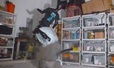 Entediado? Veja esse vídeo em super câmera lenta mostra o resultado explosivo de sentar em um airbag