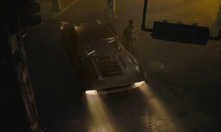 Novo Batmóvel tem as primeiras imagens reveladas