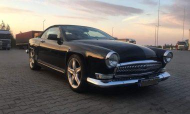 Empresa da Ucrânia transforma BMW e Mercedes em carros clássicos soviéticos