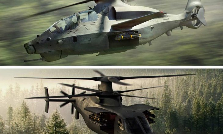 Dois helicópteros permanecem na competição 'FARA' do Exército dos EUA